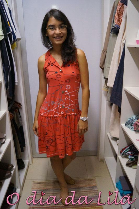 vestido estampado #lookdalila8