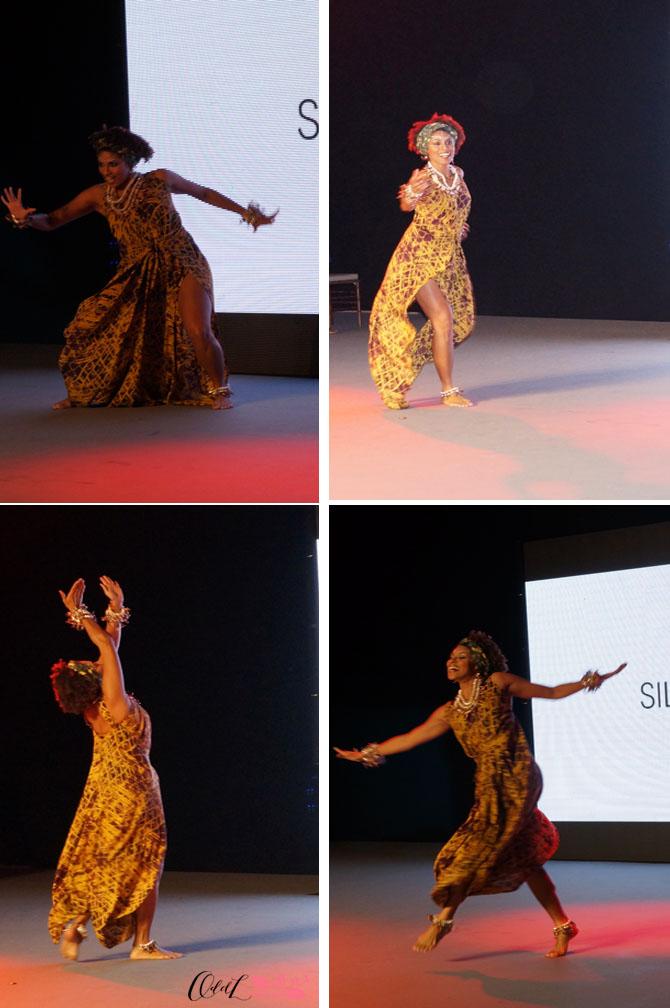 Silvia dança