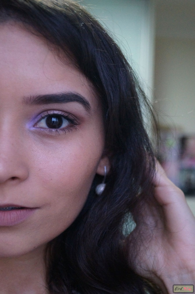 maquiagem sombra lilás 2
