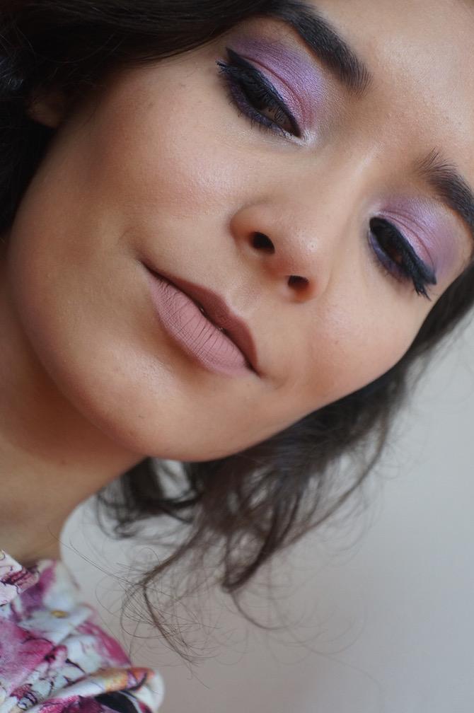maquiagem -colorida-roa-e=lilás-odiadalila