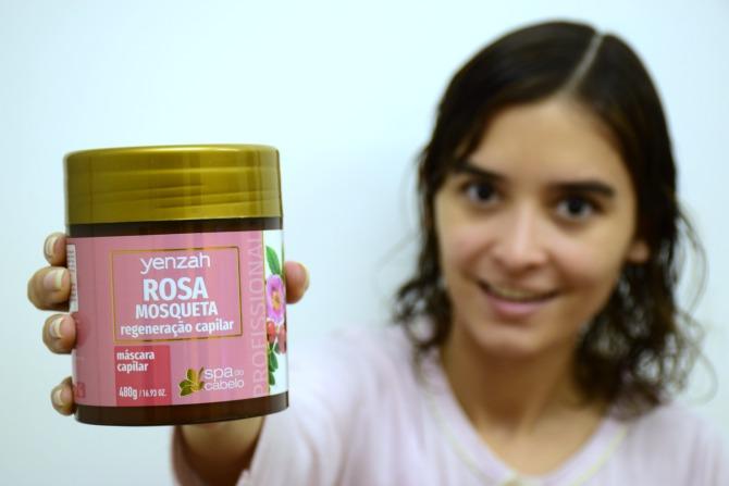 Rosa Mosqueta | Máscara capilar | SPA do Cabelo Yenzah - O dia da Lila