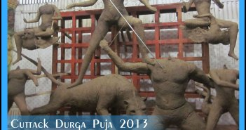 Durga puja in cuttack begins in cuttack