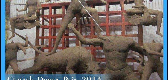 Durga puja in cuttack begins in cuttack