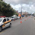 SMTT interdita via no Pinheiro para estudo geológico