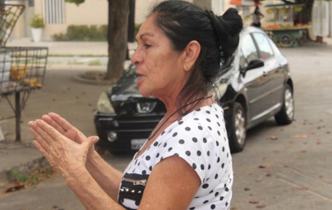 Moradora relata momentos de aflição que passou no dia do abalo sísmico (O DIA)