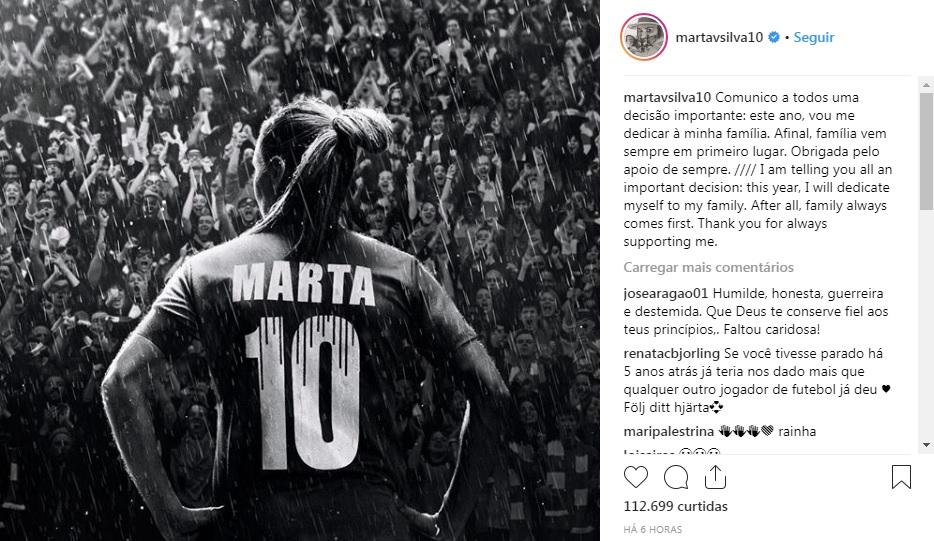 MARTA MELHOR DO MUNDO