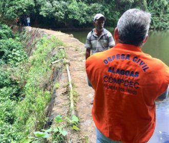 Prefeitura de Palmeira solicita inspeção na Barragem da Mata da Cafurna