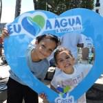 Dia Mundial da Água é lembrado com atividades na orla de Ponta Verde