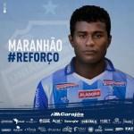 CSA anuncia o atacante Maranhão