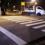 Prefeitura inicia sinalização horizontal na Santa Amélia