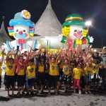 Crianças atendidas pela LBV visitam o Circo pela primeira vez
