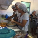 Estudantes do Jacintinho aprendem sobre reaproveitamento de alimentos