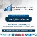 Inovação e gestão serão temas centrais do III Fórum Alagoano pela Competitividade