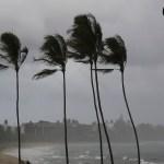 Ventos de até 74 km devem ser registrados no litoral de Alagoas