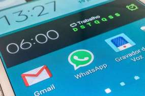 Mais de 136 milhões de usuários no país usam o aplicativo (foto: Marcello Casal Jr)