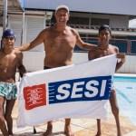 Nadadores do Sesi/AL superam deficiência e se tornam campeões nacionais
