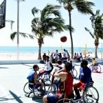 Praia Acessível: última edição do ano teve esporte, lazer e música