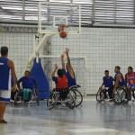 Basquete cadeirante do Sesi/AL compete nacionalmente