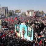 Tumulto no funeral de general iraniano deixa mortos e feridos