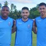 Rodrigo Pimpão, Diego Maurício e Geovane já treinam no Mutange