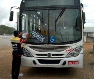 Mais dez ônibus foram autuados e outros quatro foram lacrados em Maceió