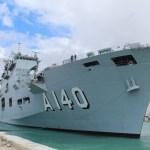 Marinha do Brasil abre navio à visitação neste fim de semana
