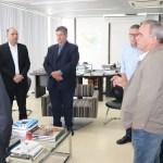 Vice-presidente do Banco do Brasil visita empresários na sede da FIEA