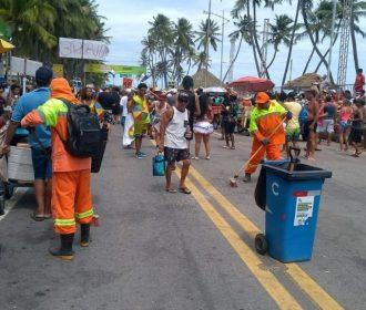 Carnaval: mais de 95 toneladas de lixo foram recolhidos em Maceió