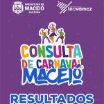 Carnaval: confira resultado da consulta lançada pela Prefeitura