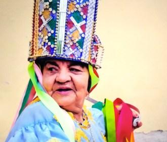 Zelina Sebastiana, a rainha do Guerreiro mais antiga do estado!