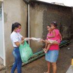 Prefeitura inicia doações de mais de 10 mil máscaras à população de Jequiá da Praia