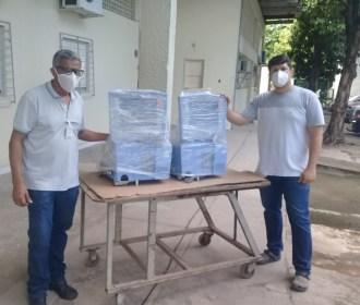 Após conserto, Senai devolve respiradores mecânicos ao Hospital Universitário