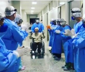 Monsenhor Rubião recebe alta médica após 46 dias de internação por covid-19