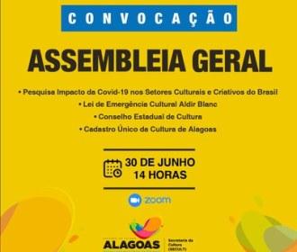 Secult convoca segmentos culturais para Assembleia Geral