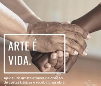 Campanha arrecada alimentos a artistas alagoanos