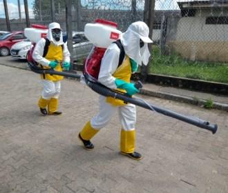 Coronavírus: Reeducandos atuam na desinfecção de unidades prisionais