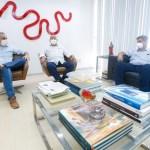 Alfredo Gaspar discute retomada econômica com Federação das Indústrias de Alagoas