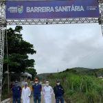 Após quatro meses, barreiras sanitárias de Santana do Mundaú encerram as atividades nesta sexta