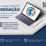 I concurso de redação para estudantes de Direito de Alagoas