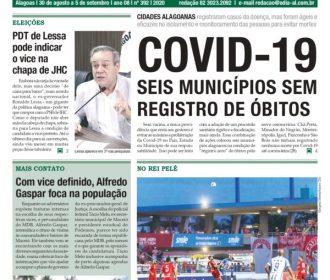 COVID-19 SEIS MUNICÍPIOS SEM REGISTRO DE ÓBITOS