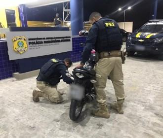 PRF prende mais dois homens por receptação na BR 101