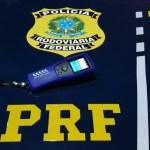 Motorista embriagado é preso pela PRF na BR 316