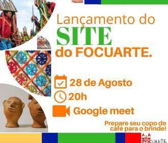 FOCUARTE lança site de incentivo à cultura alagoana!