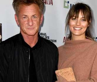 Sean Penn se casa em segredo com atriz 31 anos mais nova