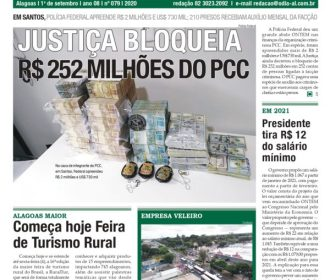 USTIÇA BLOQUEIA R$ 252 MILHÕES DO PCC