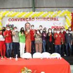 Convenção do MDB e PSB em Santana do Mundaú confirma o nome de Arthur Freitas como pré-candidato à reeleição