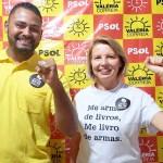 PSOL oficializada liderança do Benedito Bentes como vice de Valéria Correia