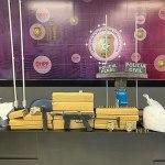 Operação apreende 12kg de maconha, 5kg de pasta base de cocaína e submetralhadora em Maceió