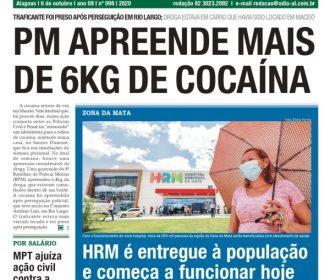 PM APREENDE MAIS DE 6KG DE COCAÍNA