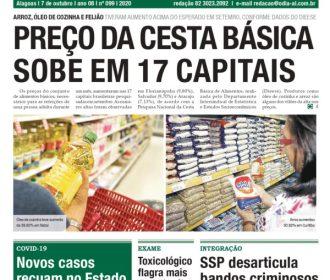 PREÇO DA CESTA BÁSICA SOBE EM 17 CAPITAIS